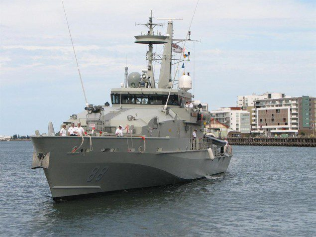 hmas maitland