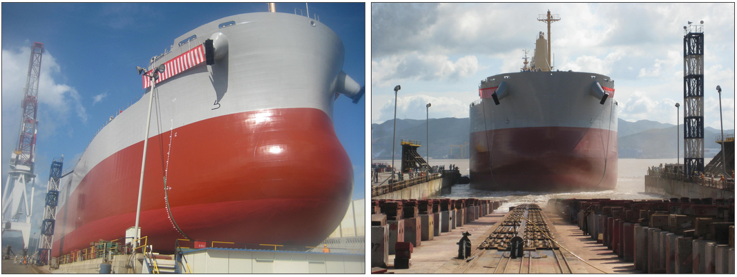 j.j. ugland supramax bulk carrier launch