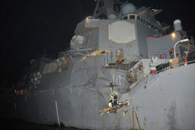 uss porter tanker collision