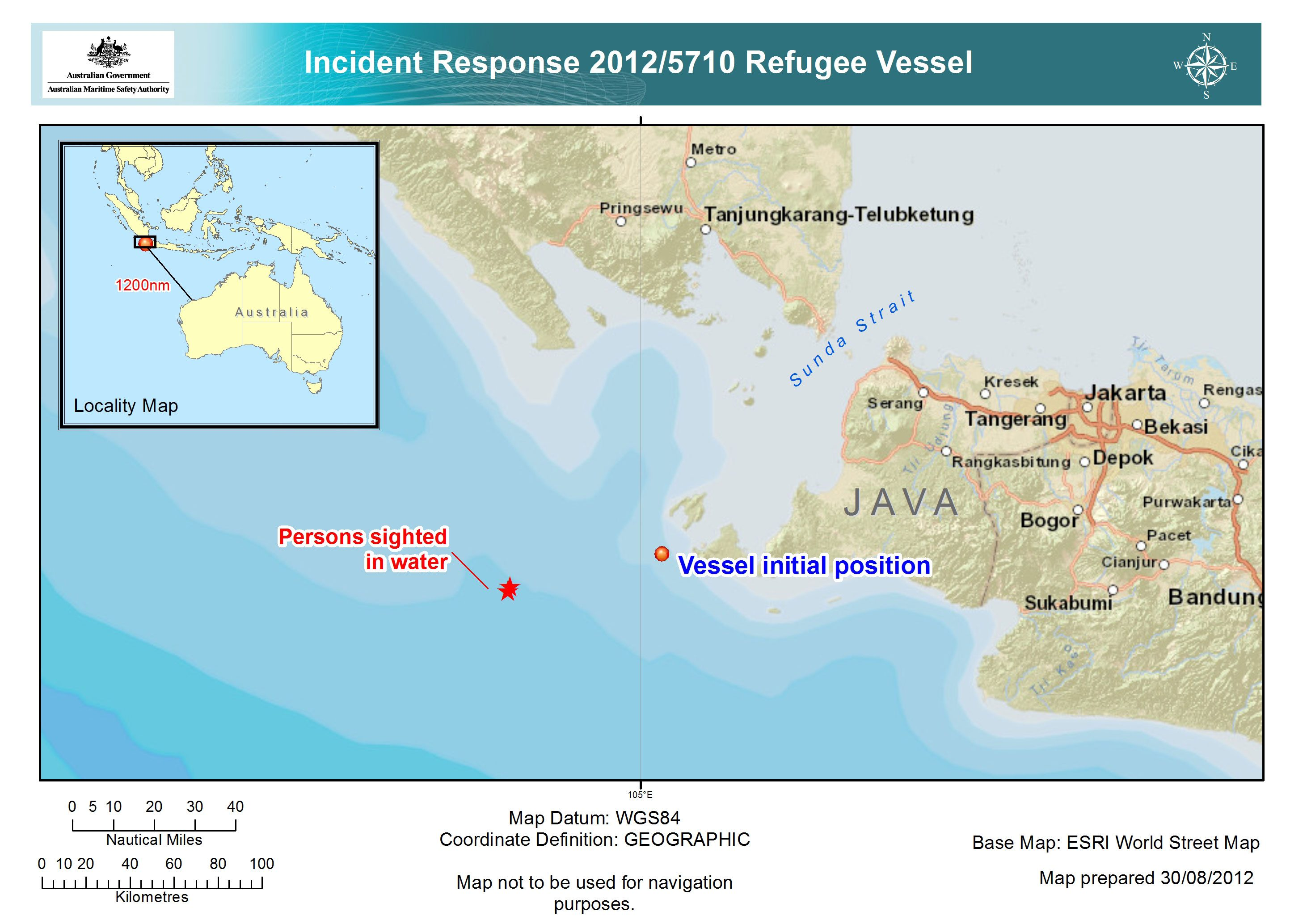 amsa incident search and rescue australia