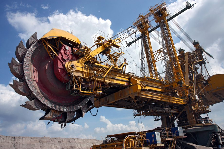 coal digger mining machine excavator