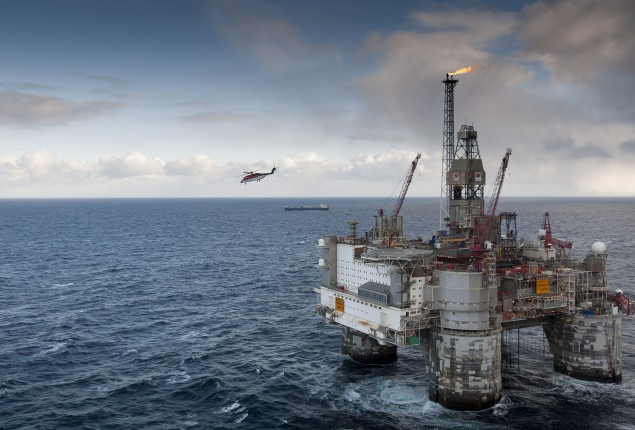 heidrun statoil offshore floating production platform semisubmersible