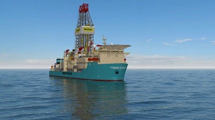 An illustration of the Deepwater Advanced 2. Image: Maersk Drilling