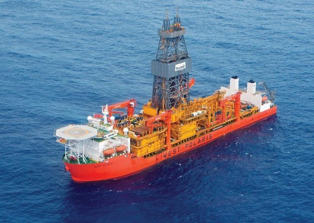 Seadrill's West Polaris drillship. Photo: Seadrill