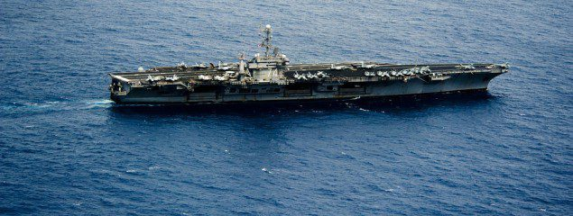 uss john c. stennis aircraft carrier us navy