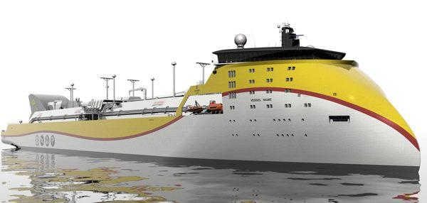 x-bow ulstein lng carrier
