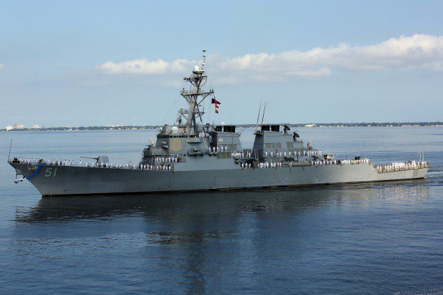 uss arleigh burke ddg-51