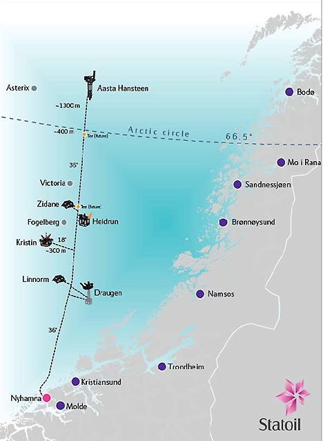 aasta hansteen field statoil