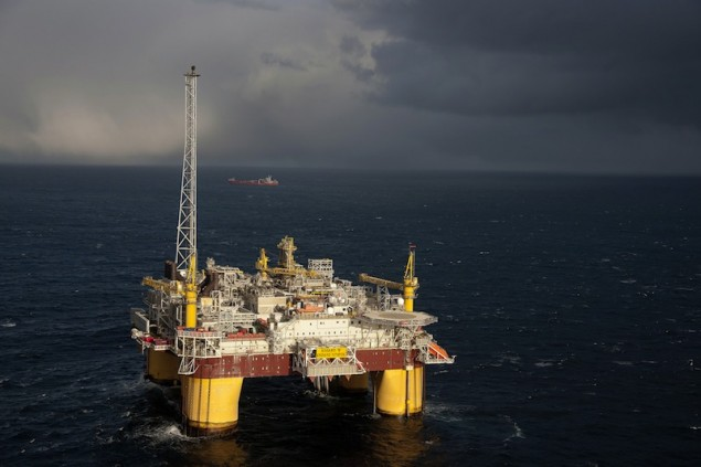 Åsgard B statoil offshore production semisubmersible