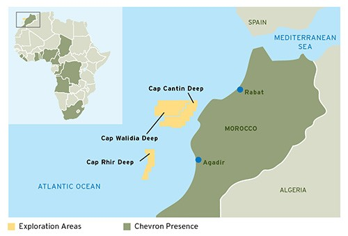 offshore morocco chevron