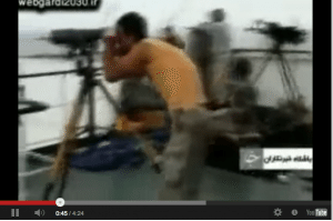 iranian maritime security pirates video