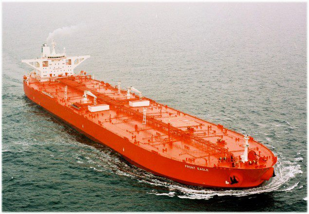 dht eagle frontline vlcc supertanker