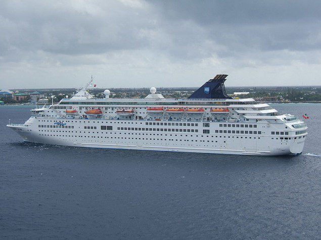homson Majesty photographed in 2007, while being operated by NCL.