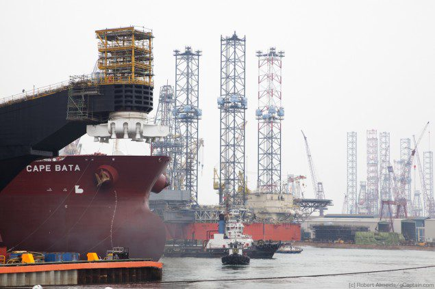 From FPSOs, to tankers, to jack-ups, Keppel builds them all. (c) R.Almeida/gCaptain