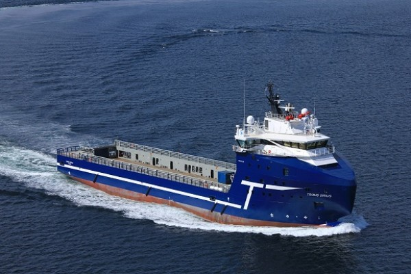 Troms Offshore&#039;s MV Troms Sirius