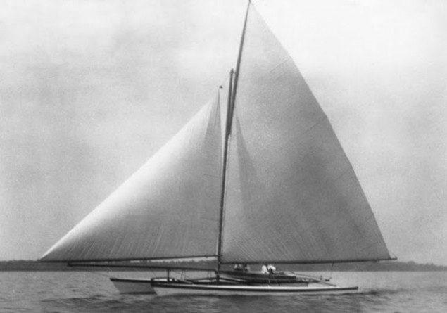 Amaryllis herreshoff catamaran