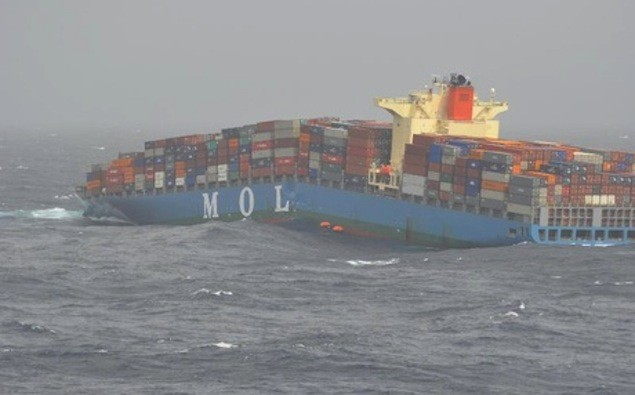 MOL Comfort on June 17, 2013.