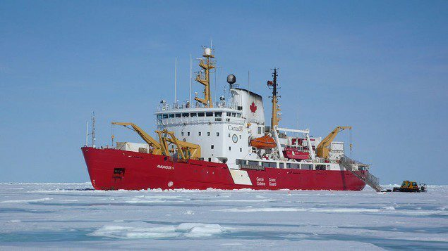 File photo of the CCGS Amundsen.