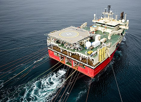 Seismic vessel Ramford Vanguard. (Photo: Ole Jørgen Bratland)